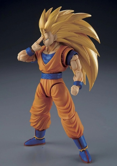 Dragon Ball Z kit Super Saiyan-3 Gokou orange 1
