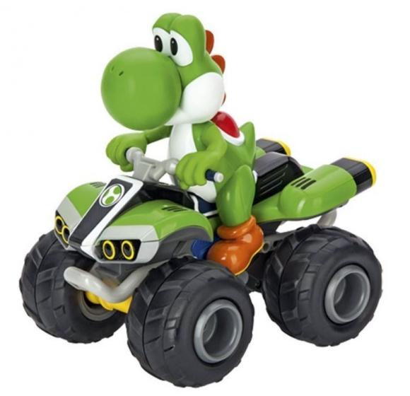 Mario Kart Yoshi quad RC green 1:20 1