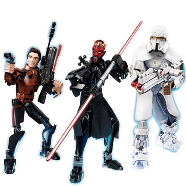 Blocks Star Wars Buildable Action Figure 2