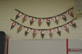 Learning objective banner