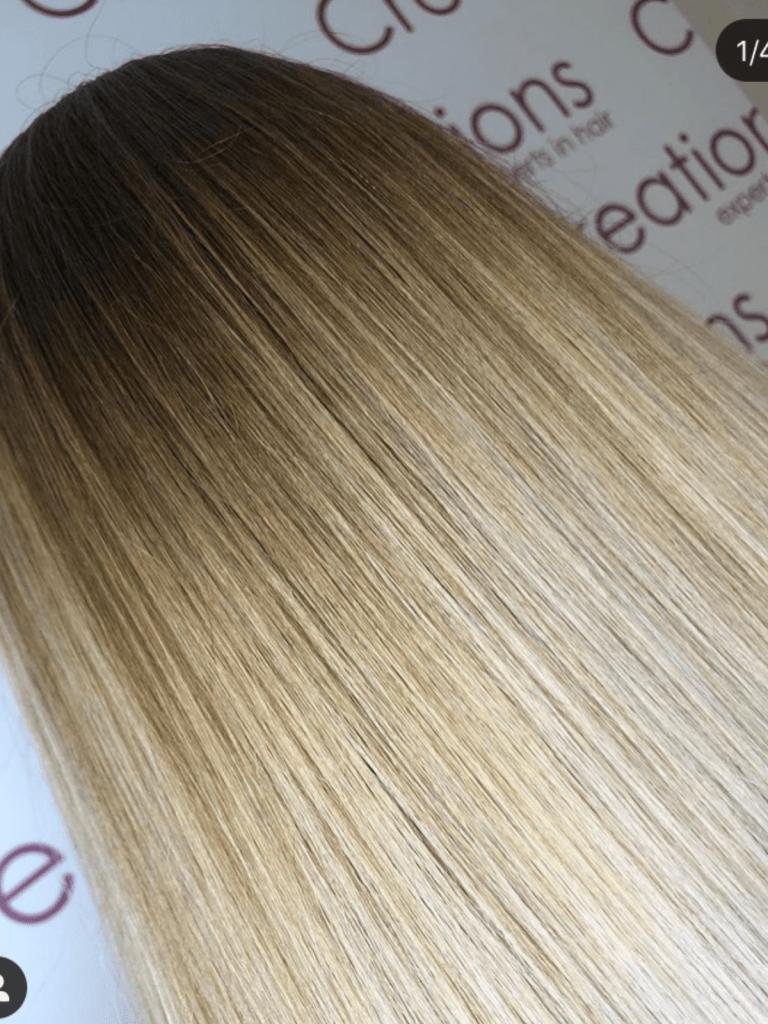 Warm Blonde Natural Highlights