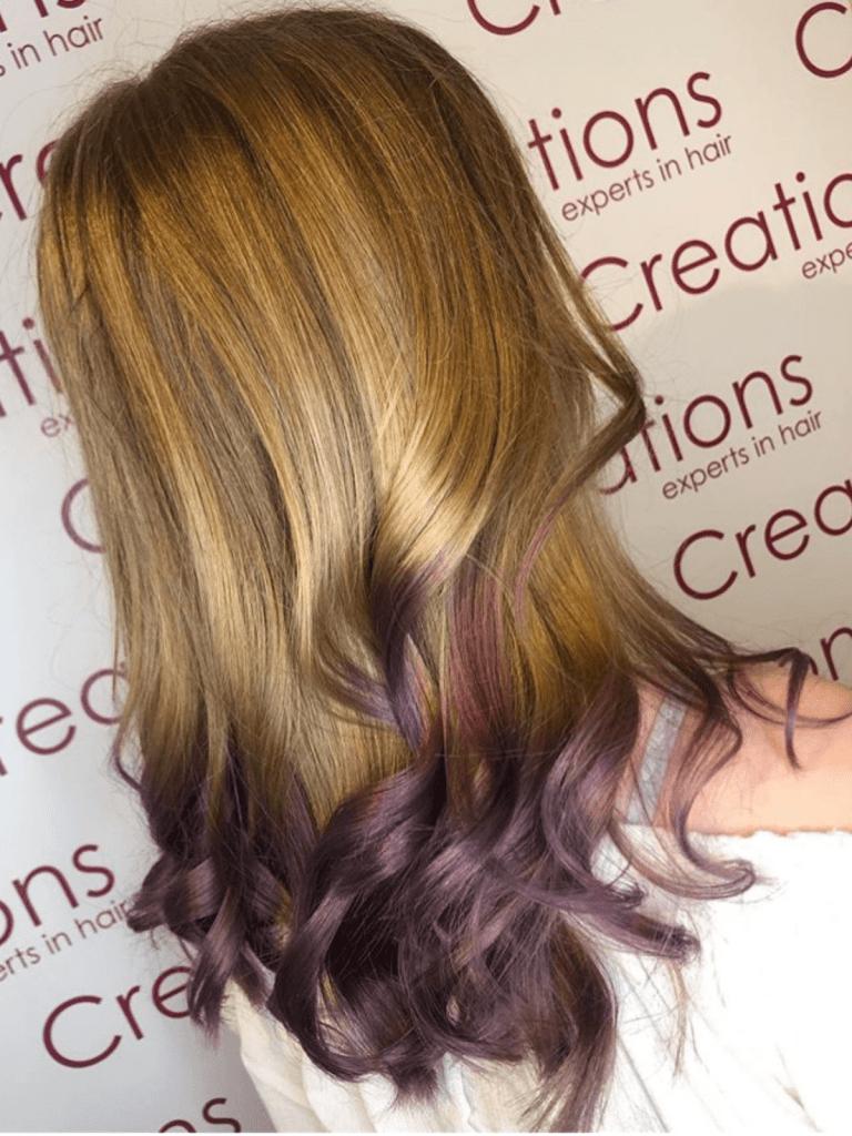 Crazy Purple Ombre