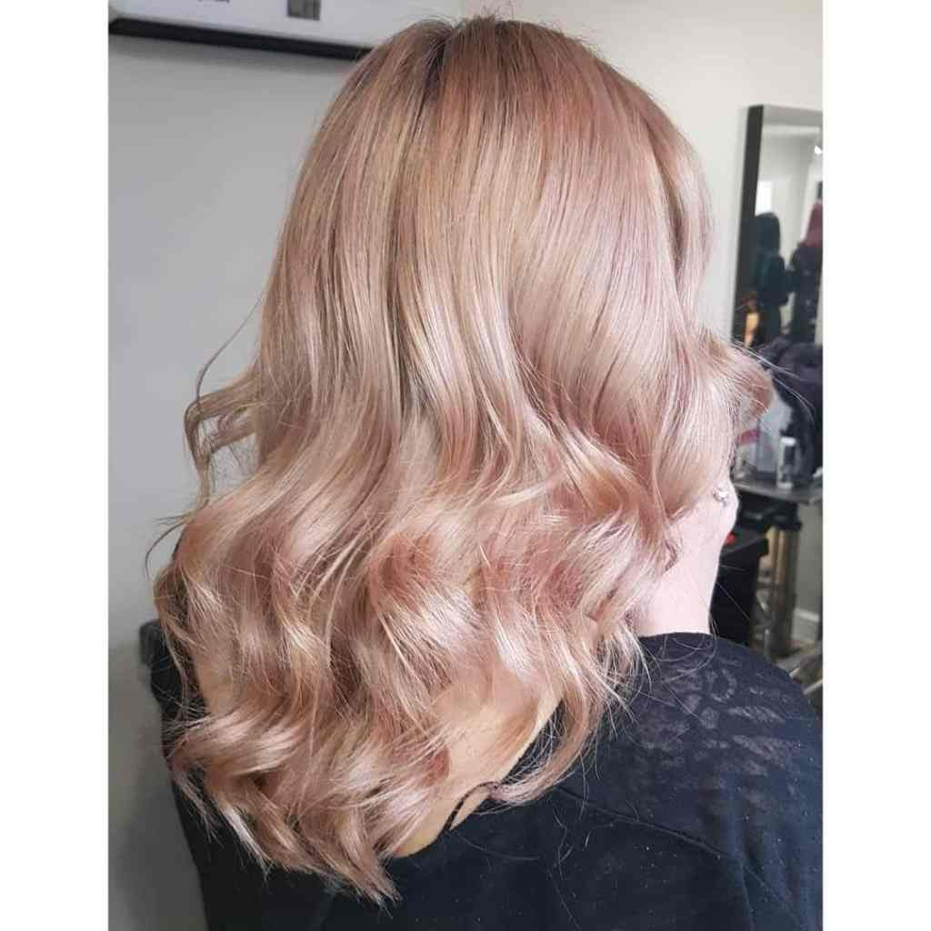 Rose Pink Curls