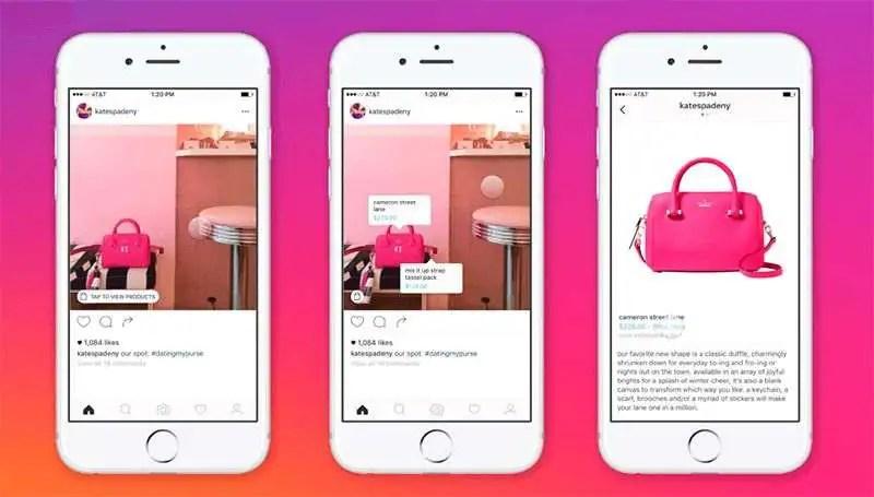 etiquetado de productos, instagram shopping