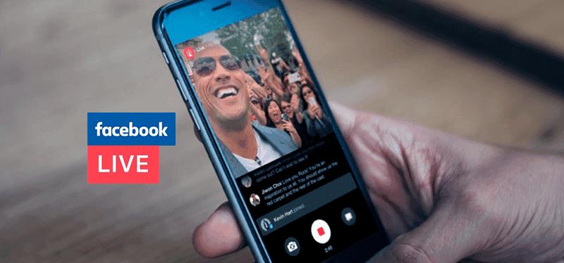 transmisión en vivo con facebook, instagram o youtube