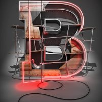 Create a 3D Typographic Illustration in photoshop