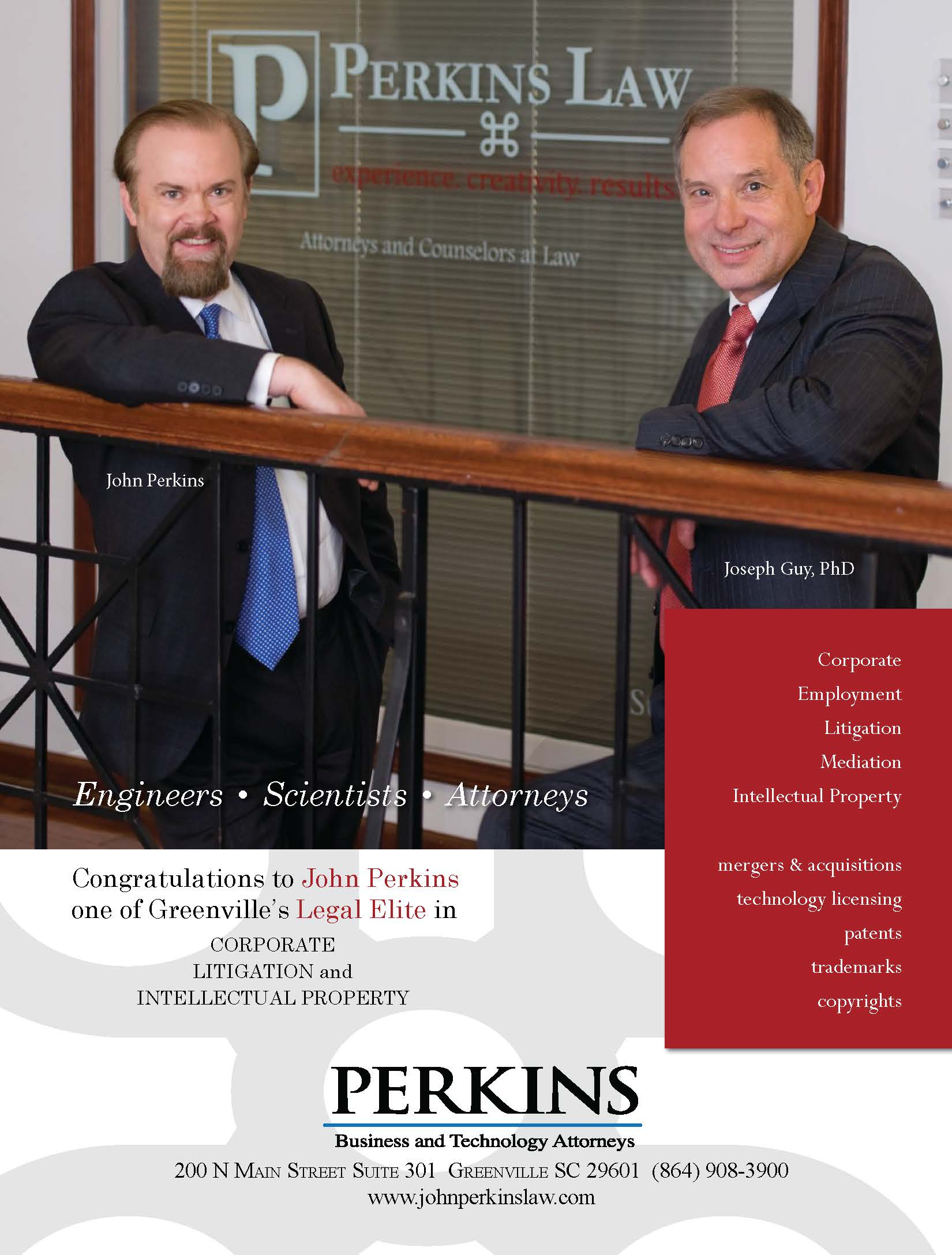 Greenville Business Magazine Ad Creative Ads And More