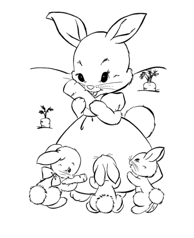 easter bunnies coloring pages creative ads and more