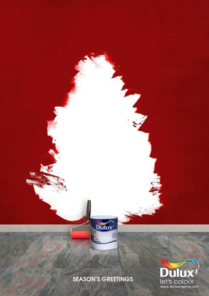 Dulux Christmas Print Ad Creative Ads And More