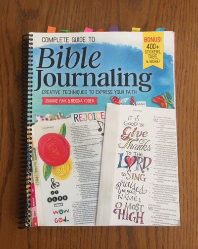 Cover of Complete Guide to Bible Journaling.