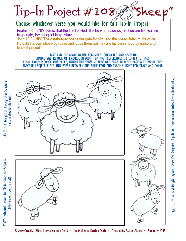 #108 Tip-In Sheep