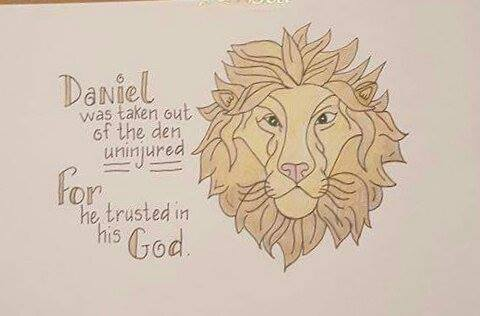#18 Lion Finished