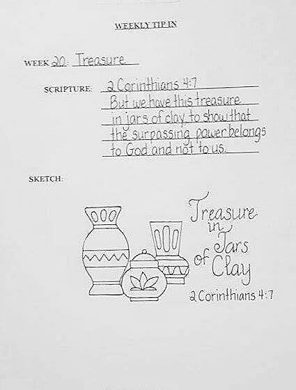 #20 Jars Sketch