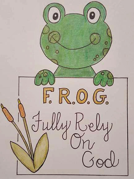 #34 FROG finished