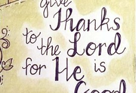 #47 Give Thanks Feature