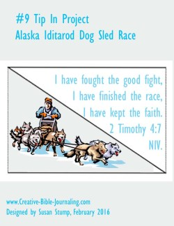 9 Tip In Project – AK Iditarod Sled Dog Race – Creative