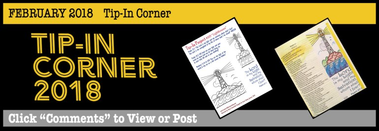 Banner Tip-In Corner