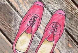 #D-222 Shoes Square