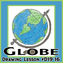 D19-16 Globe SQUARE