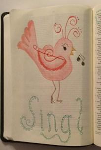 Elm Judges 400 Sing Bird - Marla