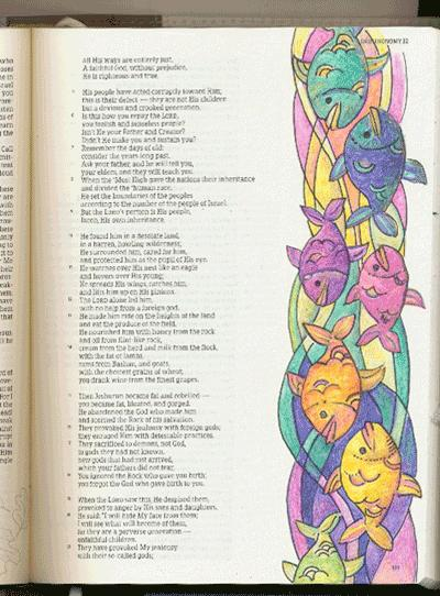 Illustrated Bible Page