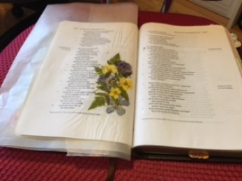 Flowers Dry Bible