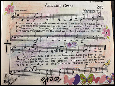 "HH 400 Amazing ""Christian Hymnal"" - Joan"