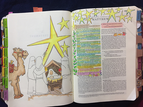 "Tip In Project #130, ""We Saw His Star"" – Creative-Bible"