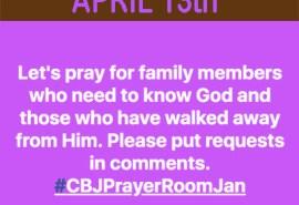 Prayer Card April 13