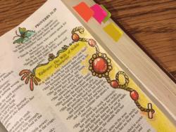 Photo of Art in a Narrow Margin Bible