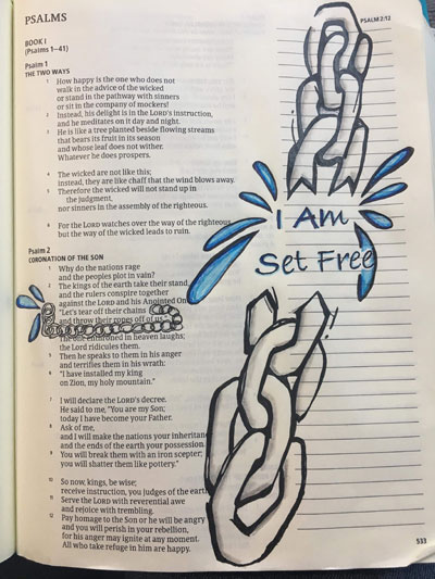 Image of Psalm 116 I am Set Free