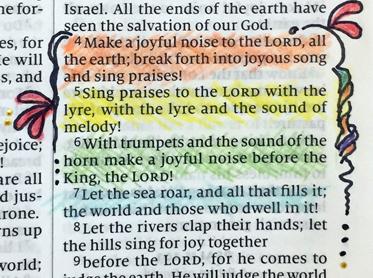 Psalms 98 45* Angle