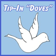 TIP IN DOVE Square