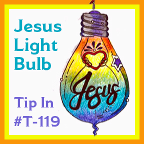 Tip In Light Bulb SQUARE