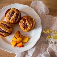 Gebacken: Nektarinen-Muffins