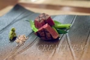和食ディナーの宴:和牛フィレ肉の網焼き