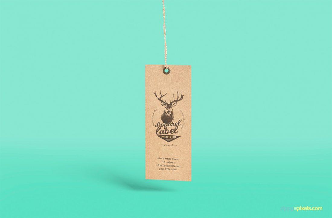 free apparel tag