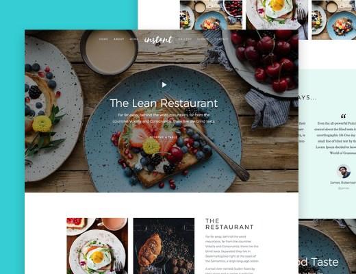 HTML5 Restaurant Theme