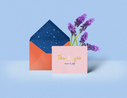 Free Thank You Card Mockup