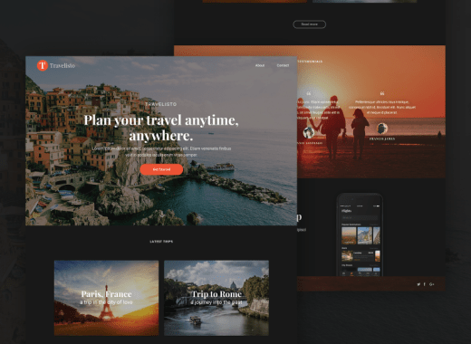 Travel UI KIT