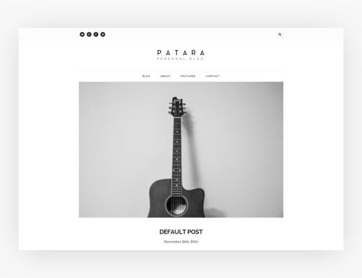 Free HTML Website Patara