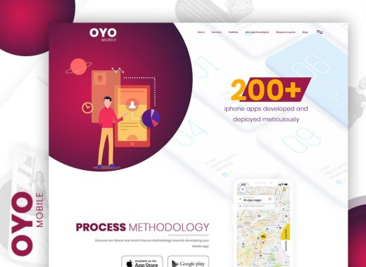 App Presentation Website Template