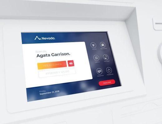 ATM UI Mockup