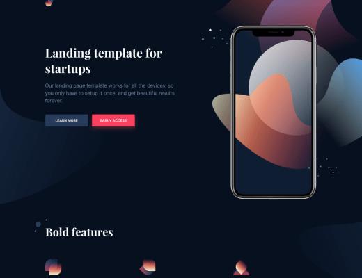Laurel Landing Page Template