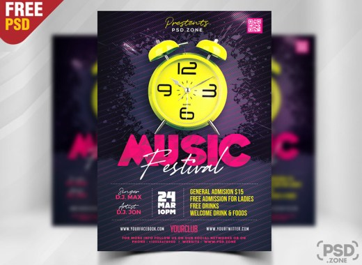 Modern-Music-Festival-Party-Flyer