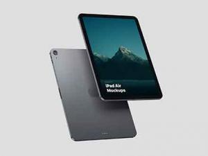 Free iPad Air Mockups (PSD)