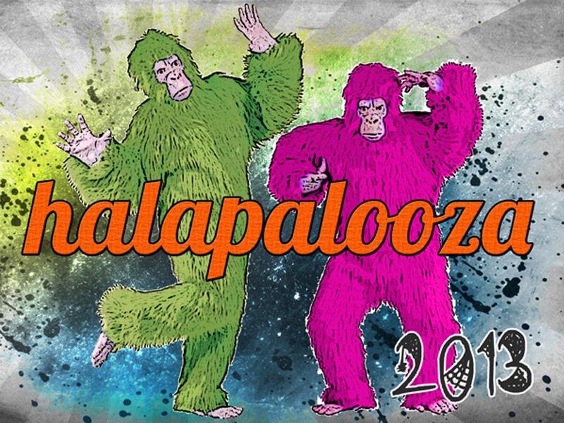 Halapalooza Graphic Design