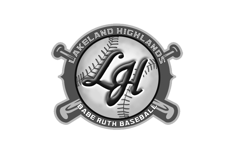 Lakeland Highlands Babe Ruth Baseball Logo
