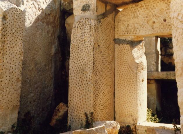 The megalithic temple Ħaġar Qim © jkb