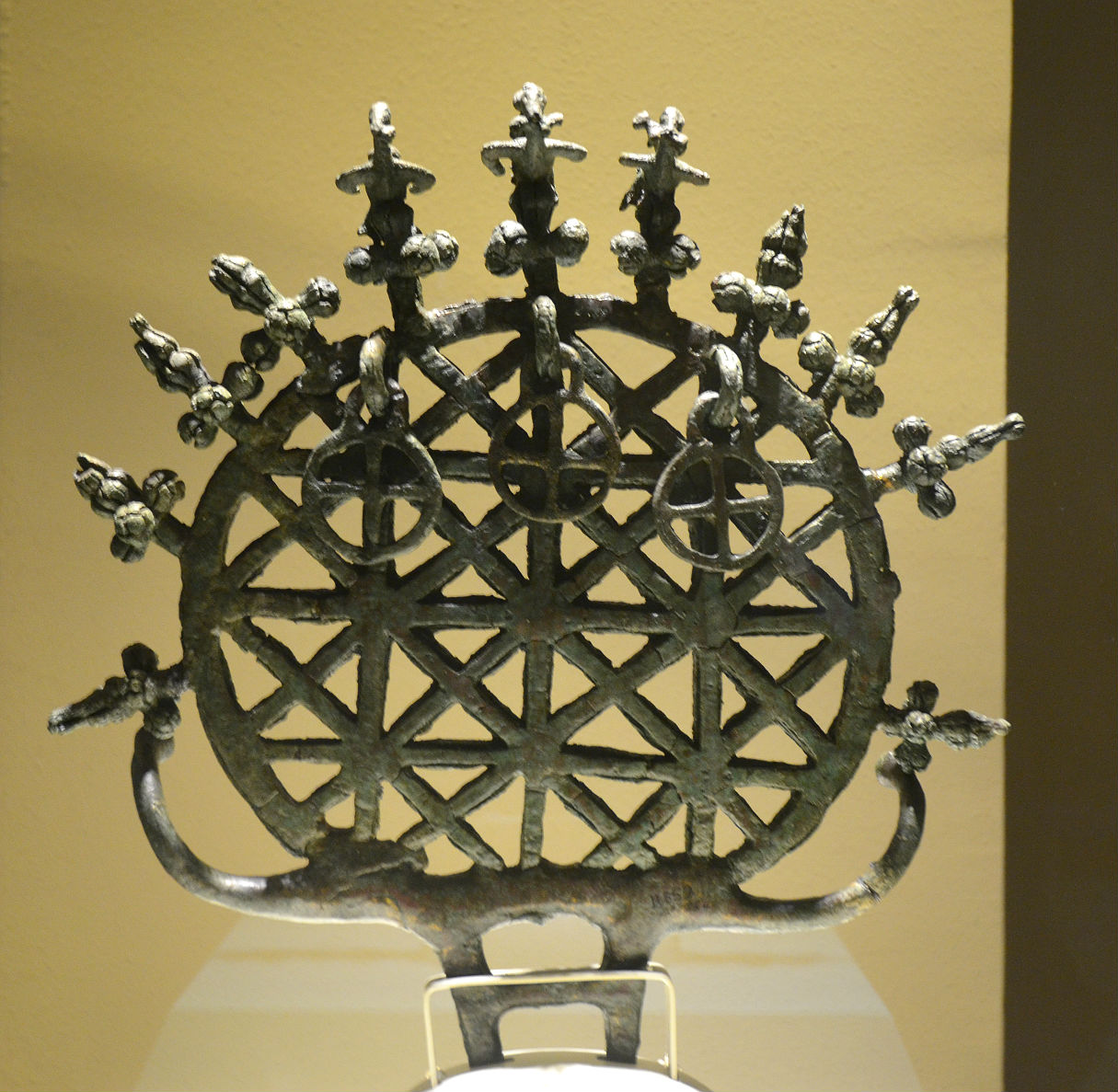 The most famous Hittite sun disc standard